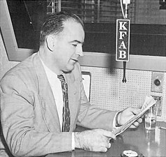 "Joseph McCarthy speaks on KFAB. According to professor Revilo Oliver, a CIA officer told McCarthy in 1950 ""Senator, you said there were 57 known Communists in the State Department. If you had access to the files of my agency, you would know that there is absolute proof that there are ten times that many. But Senator, you do not realize the magnitude and the power of the conspiracy you are attacking. They will destroy you -- they will destroy you utterly."""
