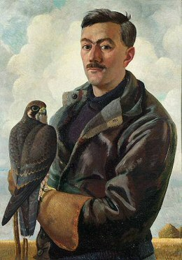 Portrait of Williamson by Charles Tunnicliffe, circa 1935