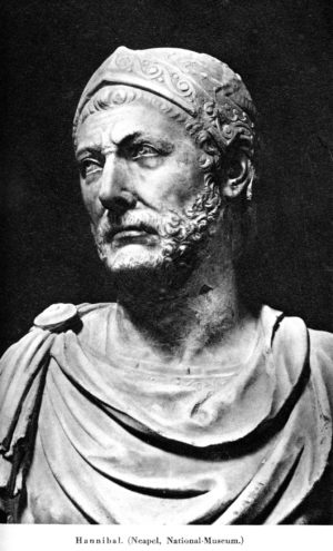 Marble bust of Hannibal Barca