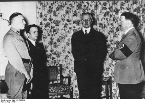 Hjalmar Schacht, Adolf Hitler