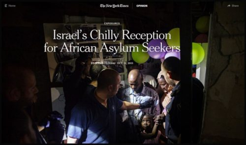 Israel-asylum-seekers-NYT-Firstuse
