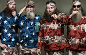 Duck Dynasty as US Flag