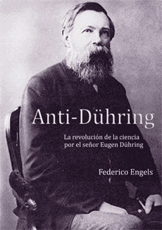 Engels on the cover of a modern edition of his book
