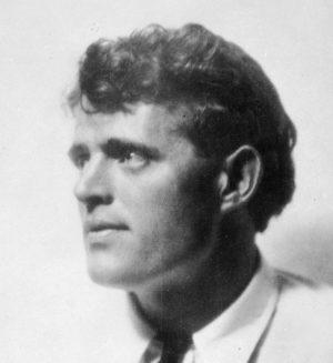 Author Jack London. Undated photo. (AP Photo)
