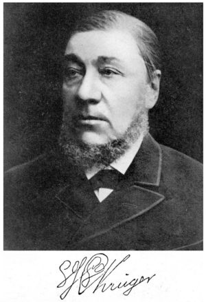 Paul Kruger, Boer leader and President of the Transvaal Republic.