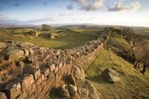 THE RUINS OF HADRIAN'S WALL: When Romans lost the will to defend their border, it proved useless.