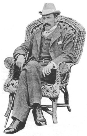 Sir Alfred Milner, British High Commissioner for South Africa.