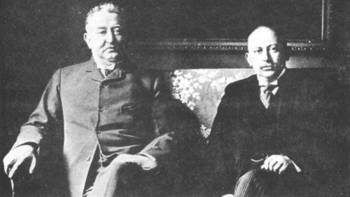 "Cecil Rhodes (left) and Alfred Beit: the ""gold-bugs."""