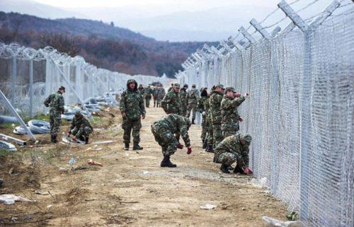 FYROM-fence